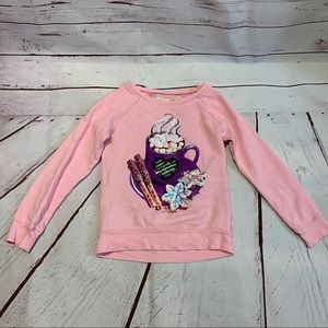 Justice Long Sleeve Top Girls 8
